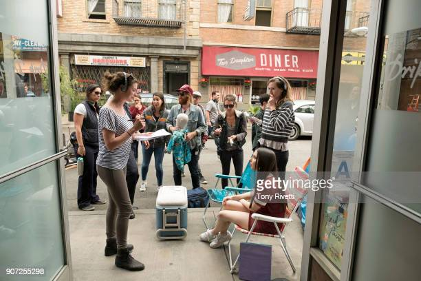 TOGETHER Pop Up When Esther and Benji stand in line for a Kylie Cosmetics popup store Esther tries to avoid the distractions of rabid teenage girls...