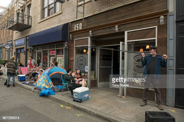 """Pop Up"""" - When Esther and Benji stand in line for a Kylie Cosmetics pop-up store, Esther tries to avoid the distractions of rabid teenage girls and..."""