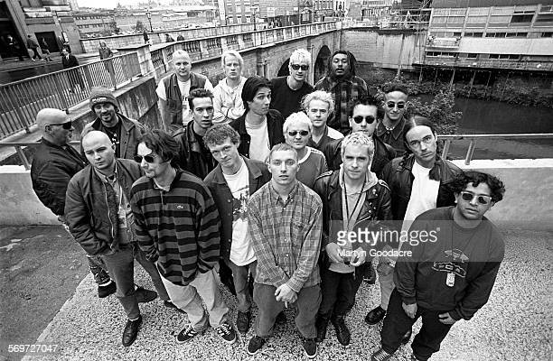 Pop Will Eat Itself with the bands Compulsion, Blaggers ITA and Dub War on the Amalgamation Tour, Manchester, United Kingdom, 1994.