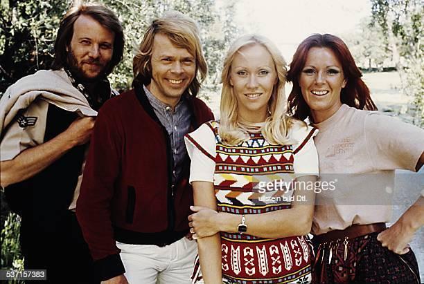 PopBand Schweden Gruppenbild 1977