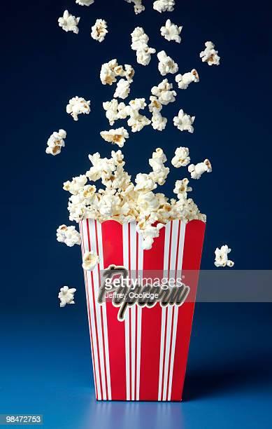 Popcorn Falling into Popcorn Box