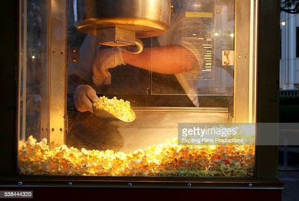 "Popcorn is served at the special screening of ""Ghostbusters"" during the 2016 Los Angeles Film Festival at FIGat7th on June 3, 2016 in Los Angeles,..."