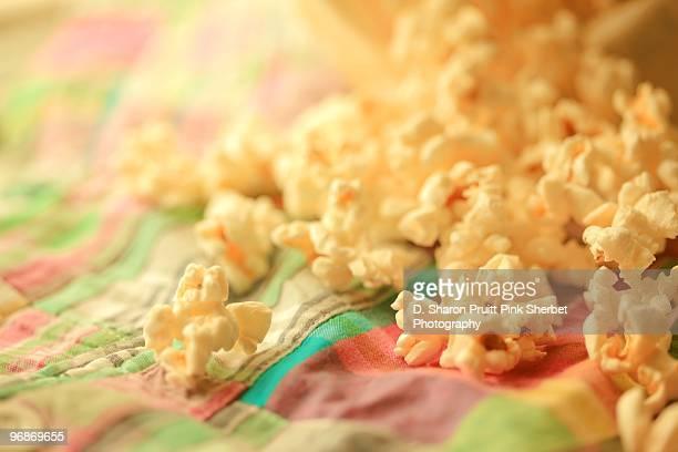 Popcorn Love On Madras Plaid