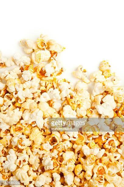 Popcorn over copy space