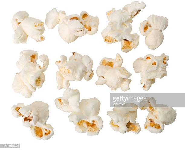 popcorn - plain background stock pictures, royalty-free photos & images