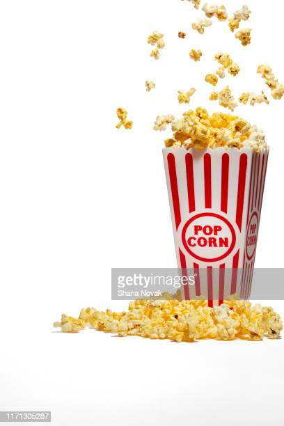 "popcorn popping - ""shana novak"" stock pictures, royalty-free photos & images"