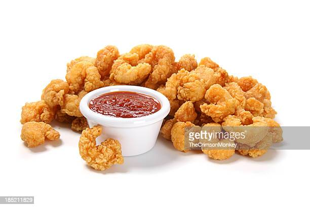Popcorn Shrimp with Cocktail Sauce