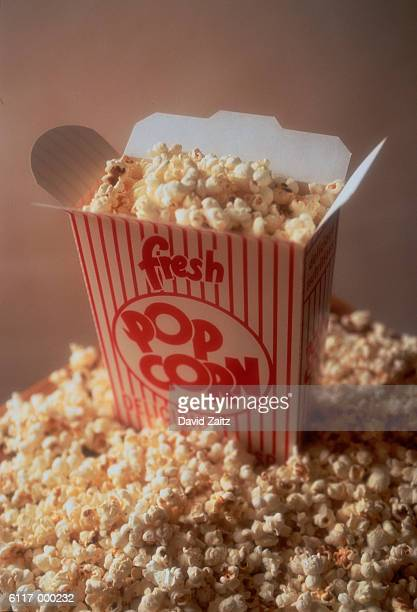 Popcorn Spilling from Box