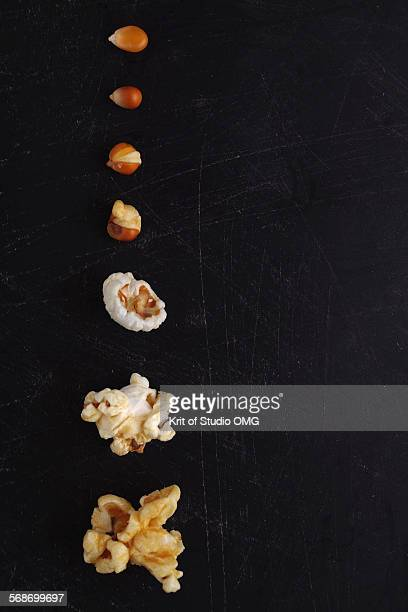 Popcorn step by step