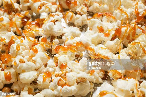 Popcorn with caramel (full-frame)