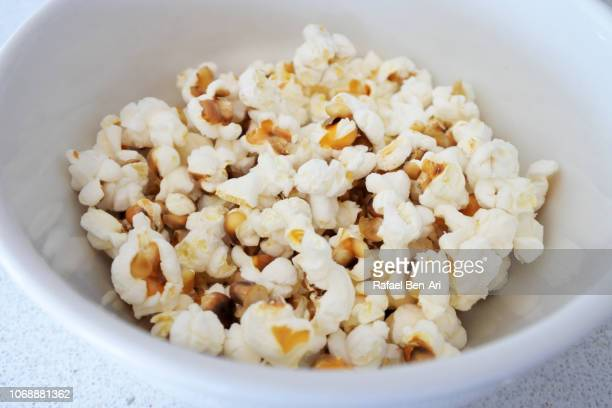 Popcorns in a White Bawl