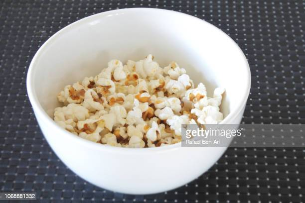 Popcorns Served in a White Bawl