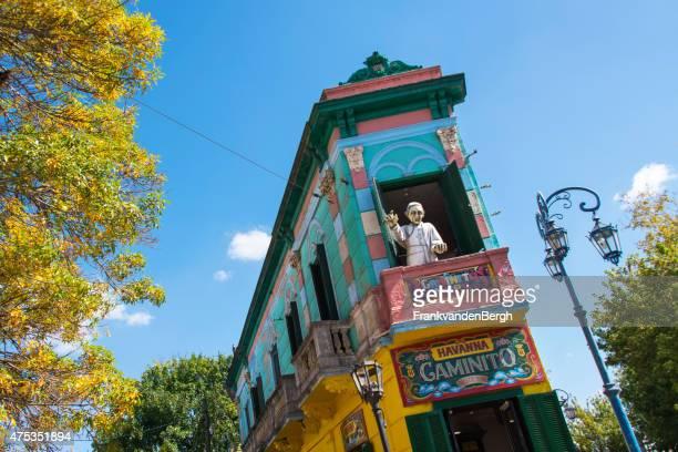 Papst an der Calle Caminito