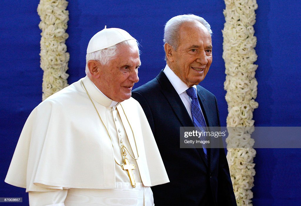 Pope Benedict XVI Visits Sacred Sites Of Jerusalem