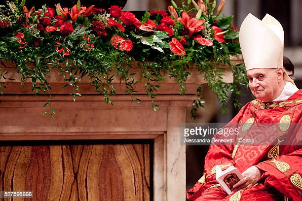 Pope Benedict XVI celebrates St Peter's and St Paul's feast in St Peter's Basilica at the VaticanToday 44 new Metropolitan Archbishops and Cardinals...