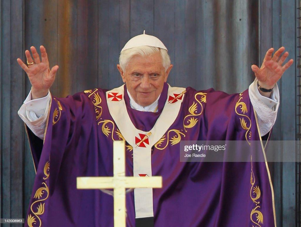 Pope Benedict XVI Celebrates Mass In Havana