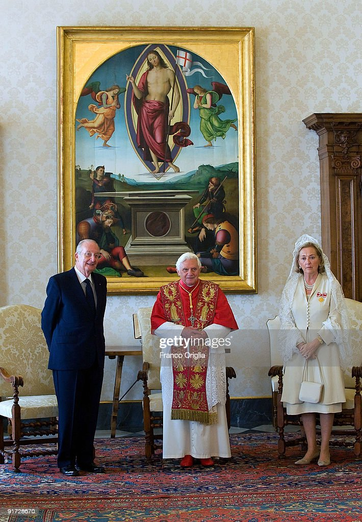 Belgian Royal Family Visit The Vatican