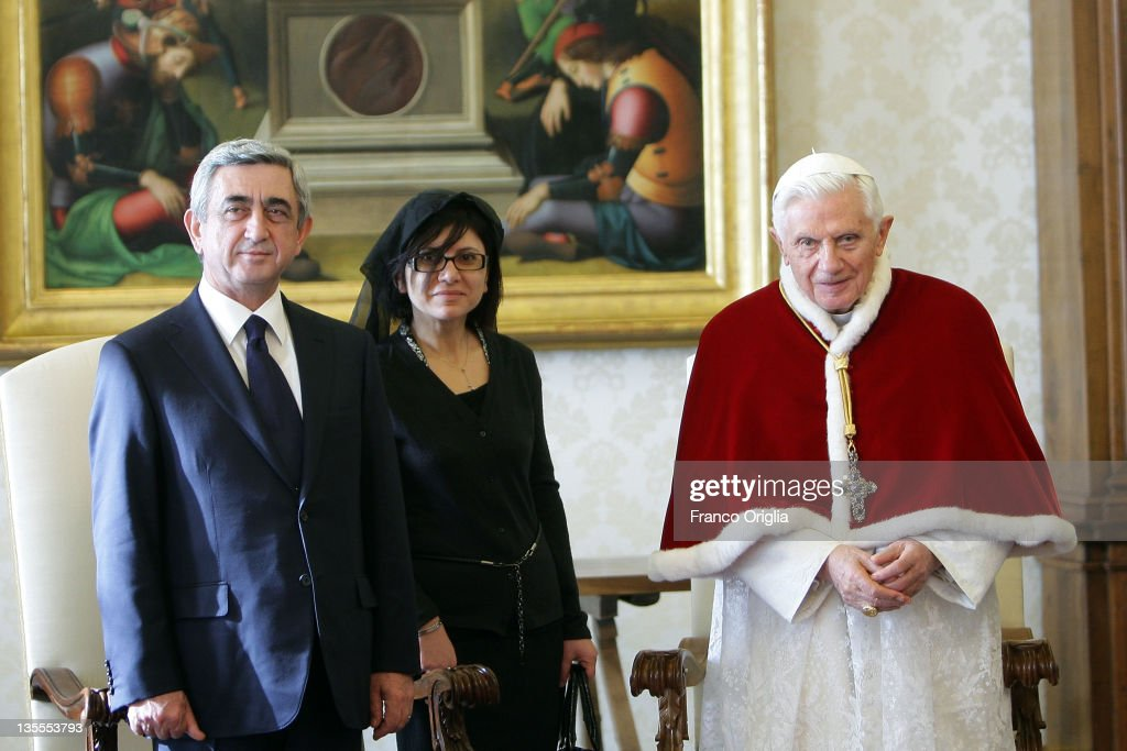 Pope Benedict XVI Meets President of Armenia