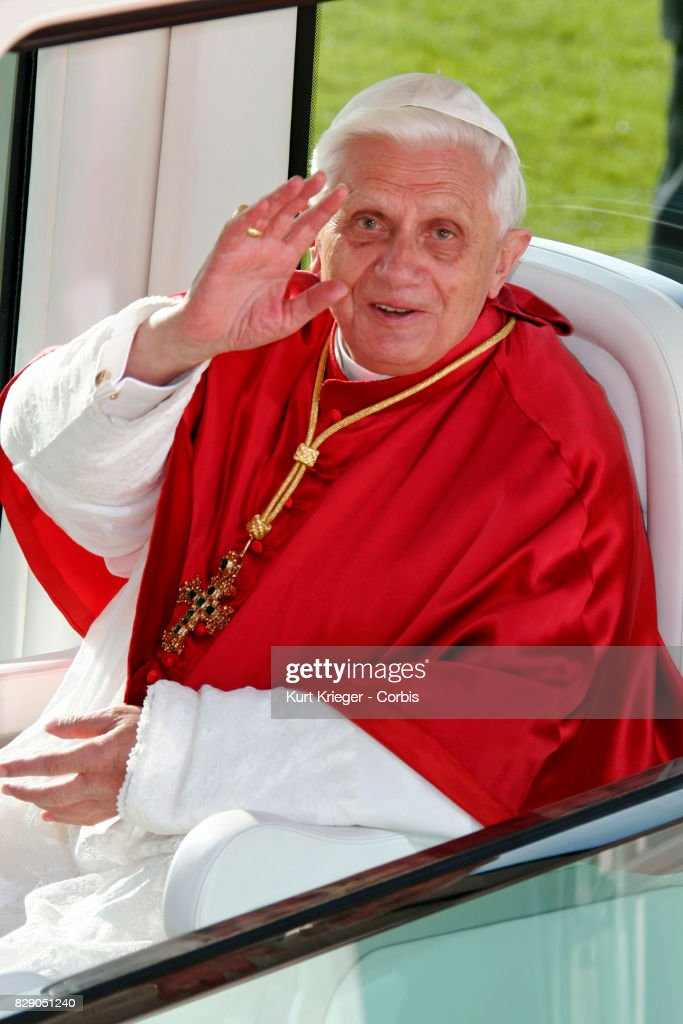 Image has been digitally retouched.) Pope Benedict XVI visits Altoetting, one of Germany´s oldest and most important places of pilgrimage, Germany, September 11, 2006.
