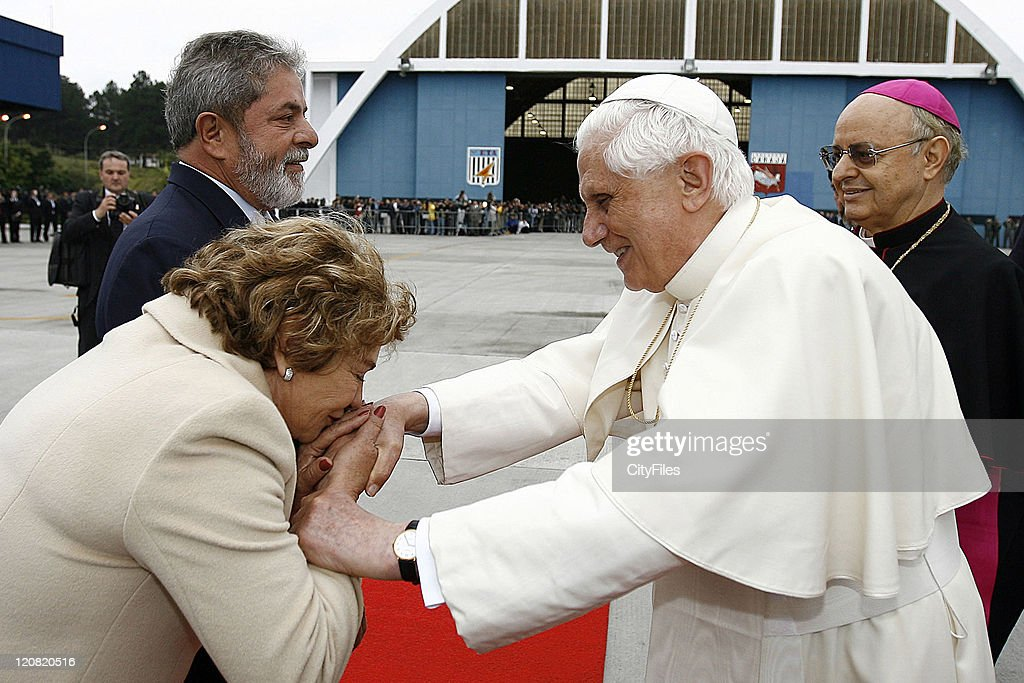 Pope Benedict XVI Official Visit to Brazil - Day 1