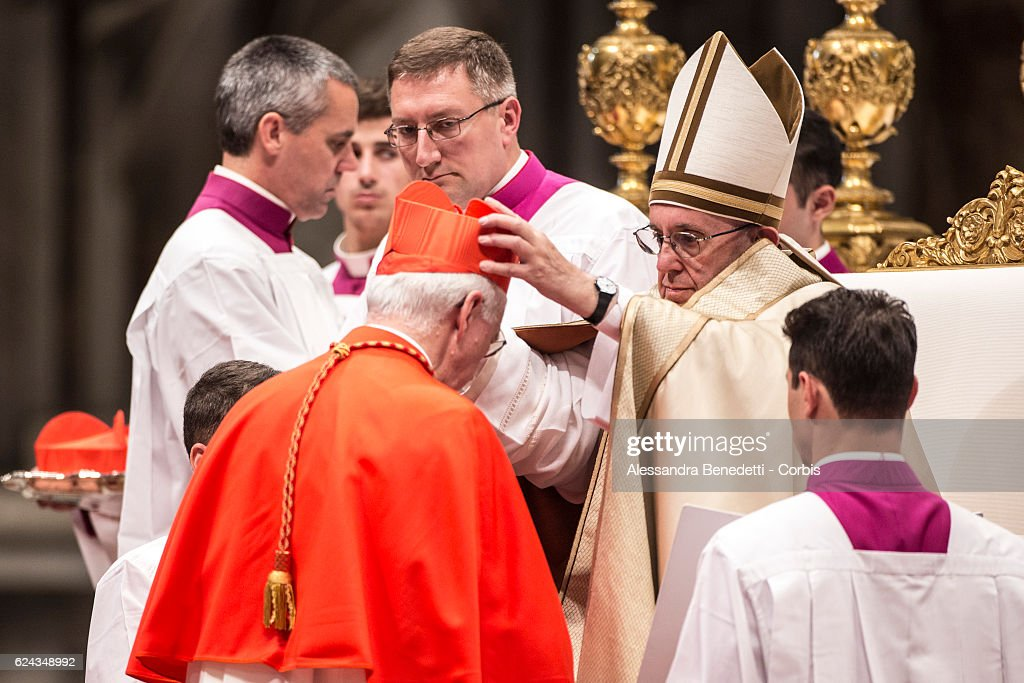 Pope Francis Appoints New Cardinals : News Photo