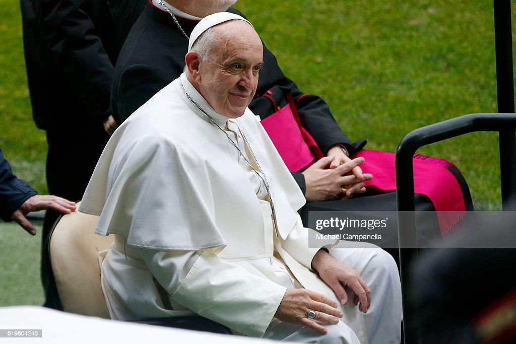 Pope Francis Visits Sweden - Day 2
