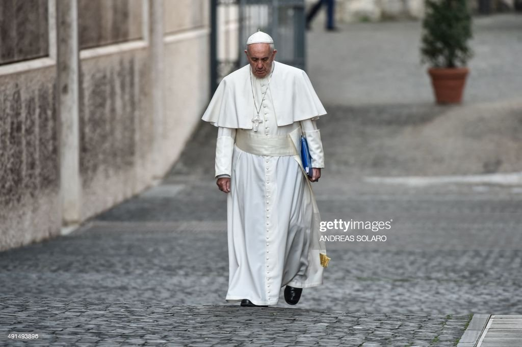 VATICAN-RELIGION-POPE-SYNOD : News Photo
