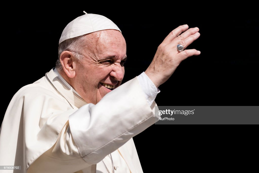 Pope Francis Attends His Weekly General Audience
