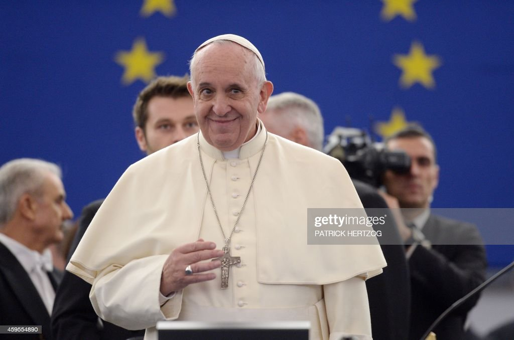 FRANCE-EU-VATICAN-POPE-VISIT : News Photo