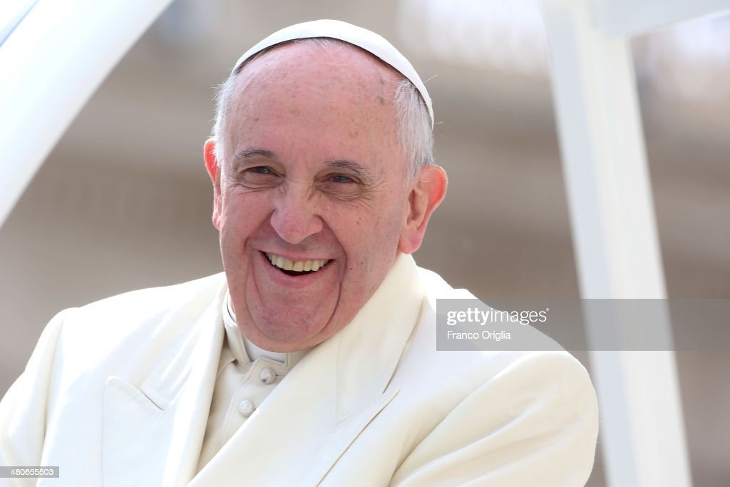 Pope Francis Attends His Weekly Audience At St. Peter's Square : News Photo