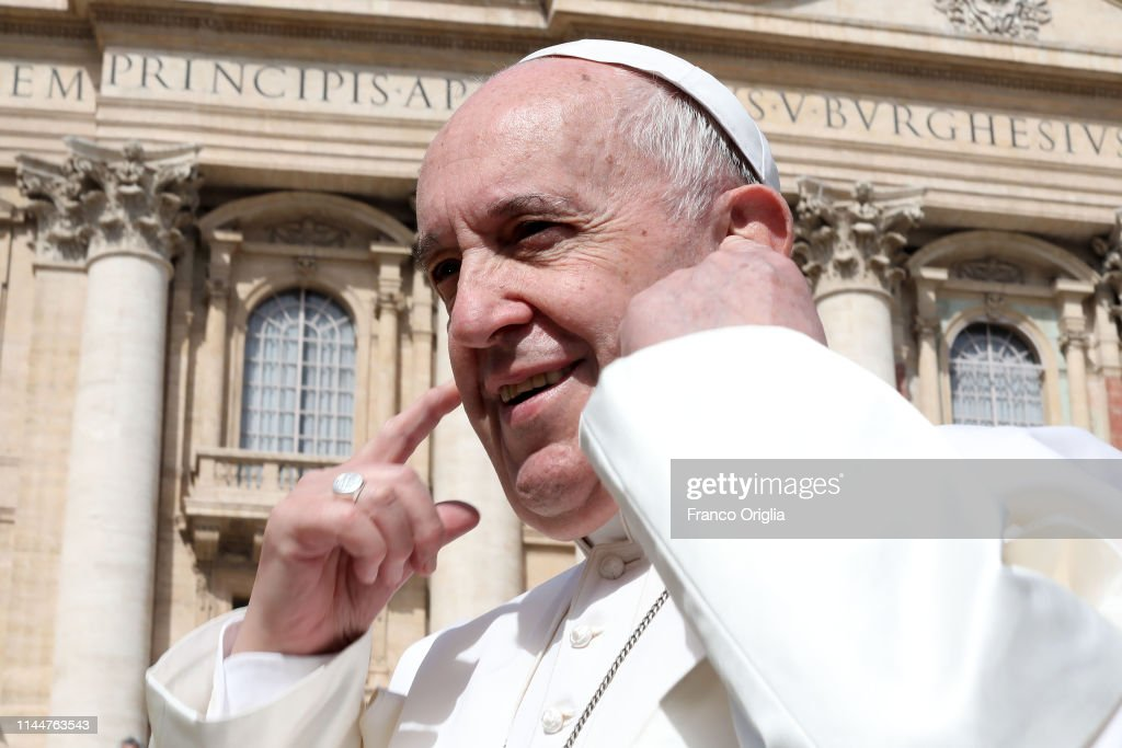 VAT: Pope Francis Attends His Weekly Audience