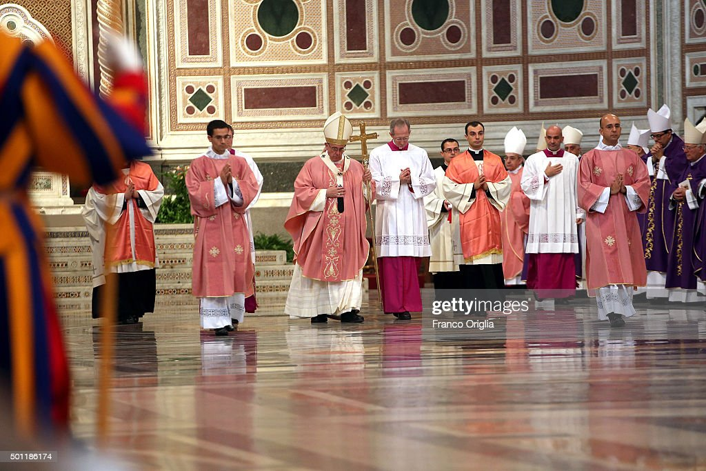 Holy Mass and Opening of the Holy Door of St John Lateran : News Photo