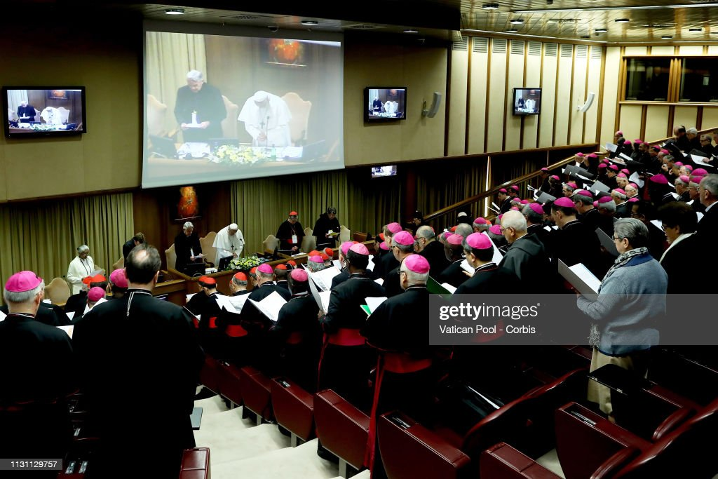 VAT: Pope Francis Attends The Meeting On The Protection Of Minors At The Vatican