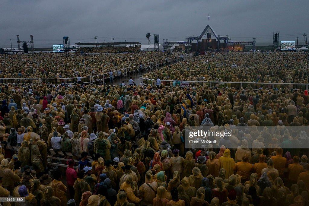 Pope Francis Visits Philippines - Day 3 : Fotografía de noticias