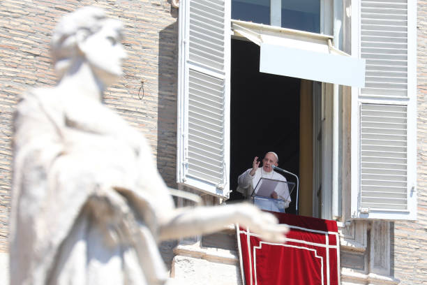 VAT: Pope Francis Delivers His Sunday Angelus Blessing
