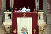 vatican city vatican pope francis delivers
