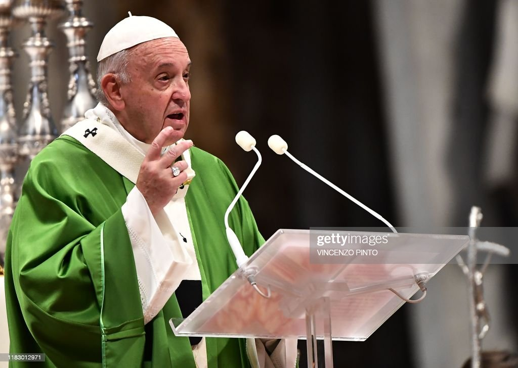 VATICAN-RELIGION-POPE-WORLD-DAY-POOR : News Photo