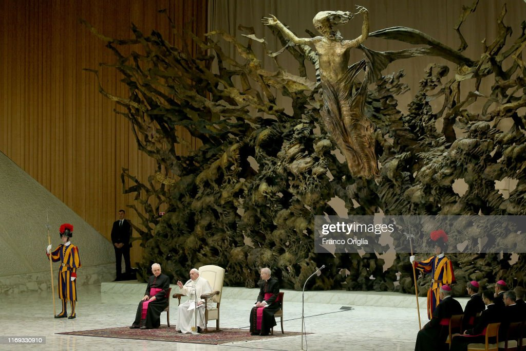 Weekly Audience Attended By Pope Francis : News Photo