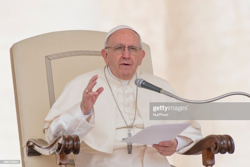 Pope Francis General Weekly Audience : News Photo