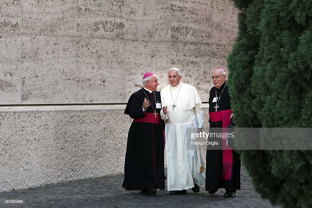 Synod On the Themes of Family Is Held At Vatican : News Photo