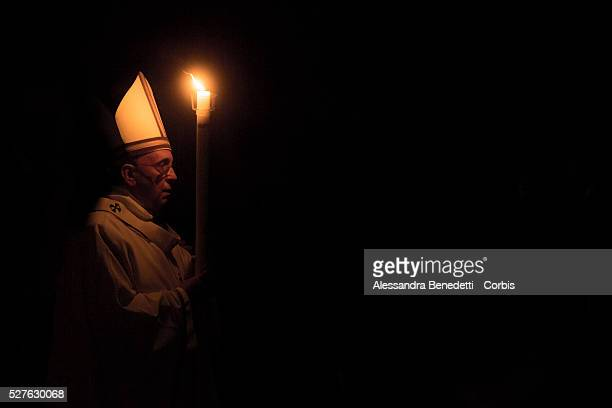 Pope Francis leads Easter Vigil in St. Peter's Basilica at the Vatican.Pope Francis has sent a message to the Catholic Bishops Conference of Kenya...