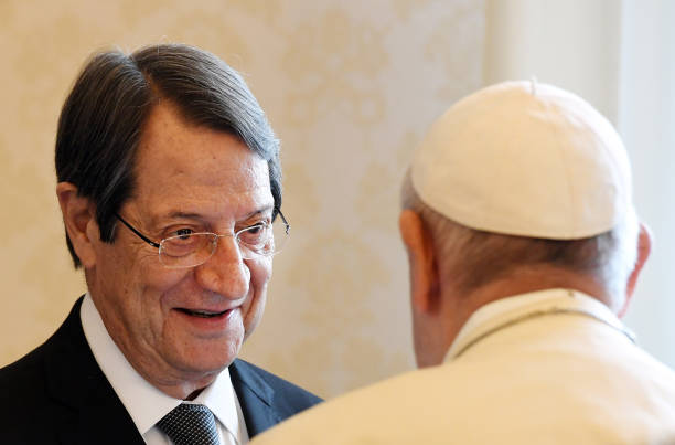 VAT: Pope Francis Meets Cipro President