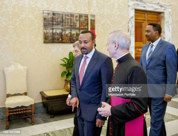Pope Francis meets Prime Minister of the Federal Democratic Republic of Ethiopia Abiy Ahmed Vatican City January 21th 2019