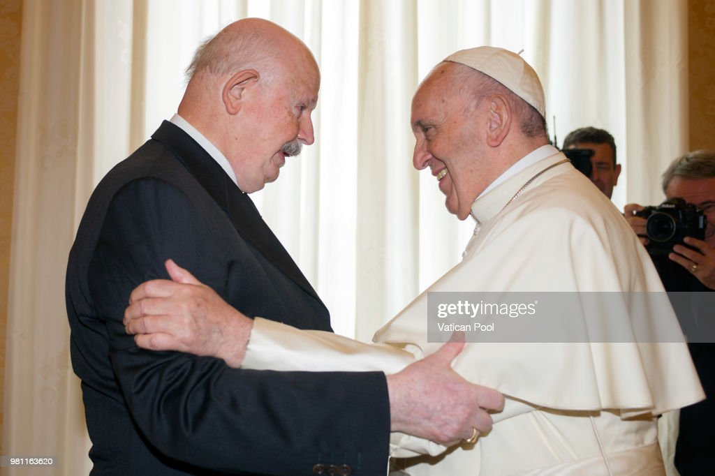 Pope Meets The Lieutenant Of Grand Master Of The Sovereign Military Order Of Malta Giacomo Dalla Torre