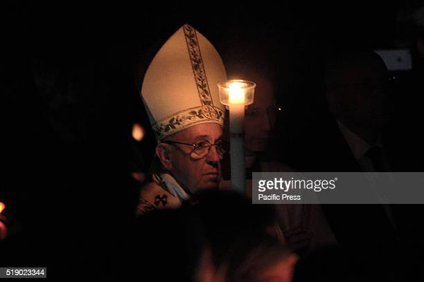 Pope Francis on the night before Easter celebrated the Vigil at the Vatican Basilica During his homily Pope Francis said The Christian hope is not...
