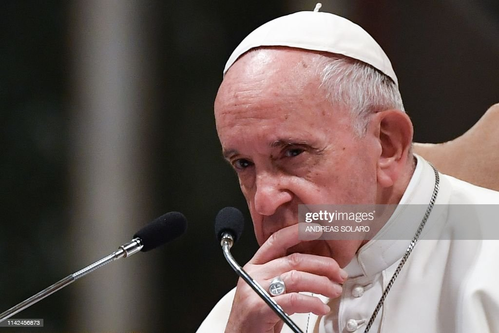 ITALY-VATICAN-POPE-RELIGION-ROME-DIOCESE : News Photo