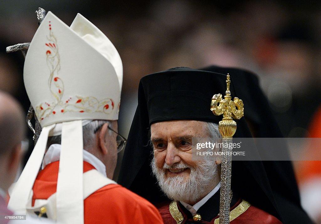 VATICAN-POPE-PALLIUM : News Photo