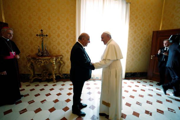 VAT: Pope Francis Meets President Of Malta George Vella