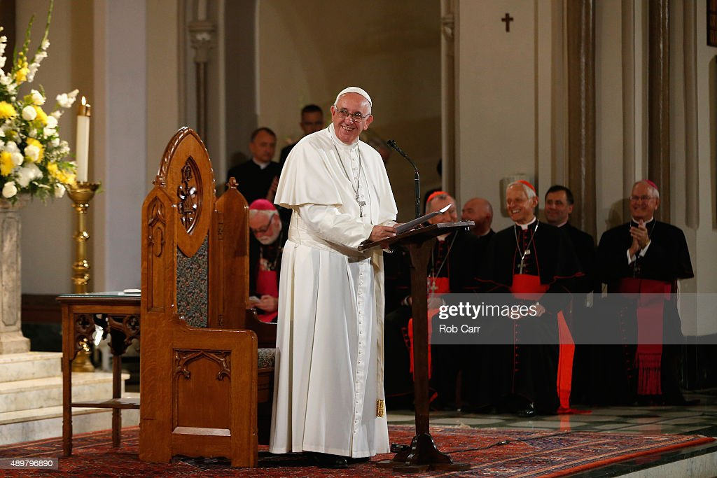 Pope Francis Visits St. Patrick's In Washington, D.C.