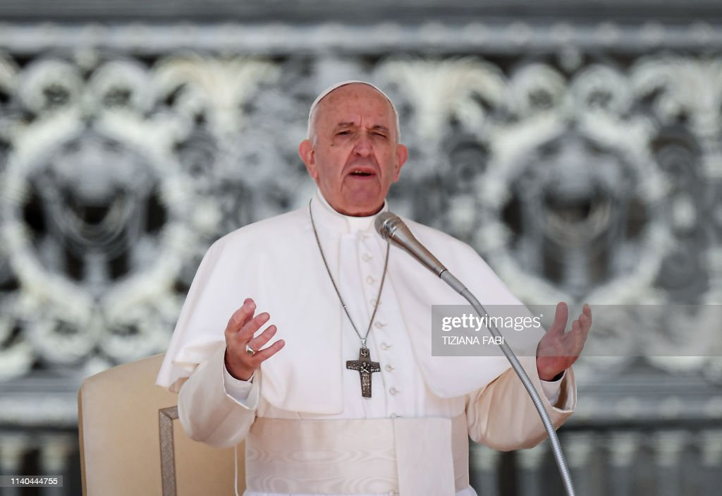 VATICAN-POPE-AUDIENCE : News Photo